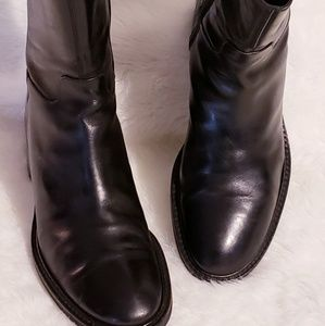 Cole Haan Leather Booties